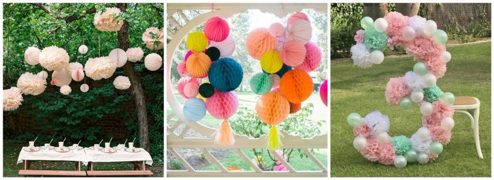 8 dekoratsiooni ideed looduses tähistamiseks