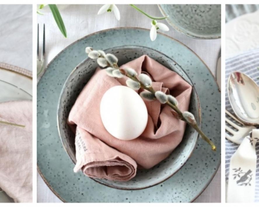Dekoratsioonide ideed Lihavõttepühadeks