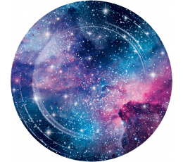 "Taldrikud ""Galaktika (8 tk./22 cm)"