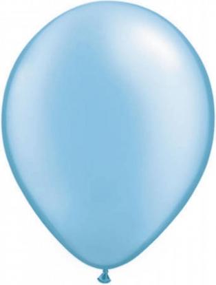Õhupall helesinine pärlmutter(30 cm)