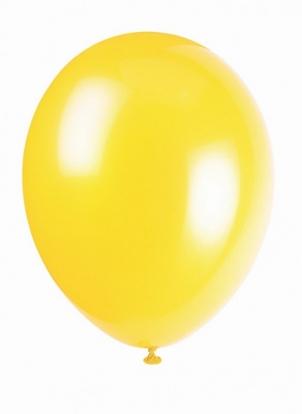 Õhupall, kollane (30 cm)