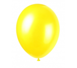 Õhupall kollane pärlmutter (30 cm)