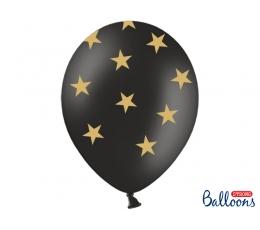 """Õhupall """"Kuldsed tähed"""" (30 cm)"""