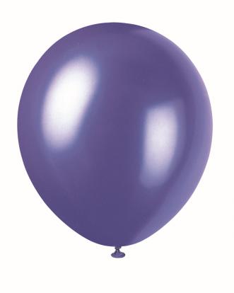 Õhupall, lilla pärlmutter (30 cm)