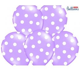 Õhupall, lilla valgete täppidega (30 cm)