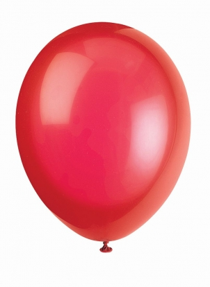 Õhupall, punane (30 cm)
