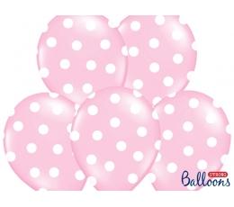 Õhupall, roosa - täpline (30 cm)
