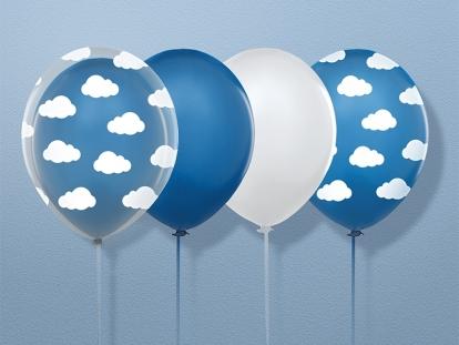 """Õhupall """"Sinised pilvekesed"""" (30 cm)"""
