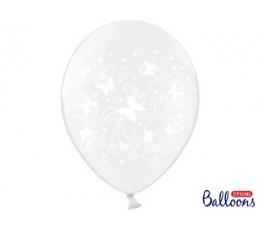 """Õhupall """"Valged liblikad"""" (30 cm)"""