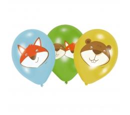 """Õhupallid """"Loomad"""" (6 tk./27 cm)"""
