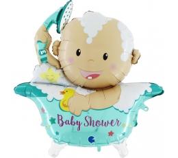 "3D-fooliumst õhupall ""Baby Shower"" (107 cm)"