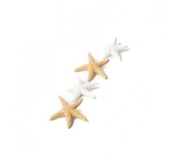 """3D-kaunistused/kleepsud """"Meritäht"""" (6 tk / 4,5 cm)"""