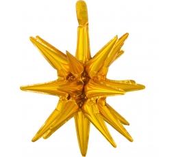 "3D-õhupall ""Kuldne täht"" (45x50 cm)"