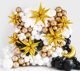 """3D-õhupall """"Kuldne täht"""" (70 cm) 2"""