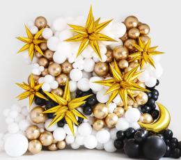 """3D-õhupall """"Kuldne täht"""" (95 cm) 1"""
