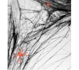Ämblikuvõrk koos ämblikega, must (60 g)
