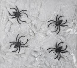 Ämblikuvõrk koos ämblikutega, valge (20 g)