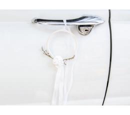 Auto dekoreerimise komplekt - valge