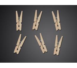 Dekoratiiv lõksud, puidust (20tk)