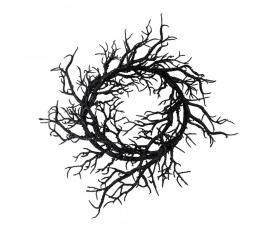Dekoratiivne oksapärg, must (56x5 cm)