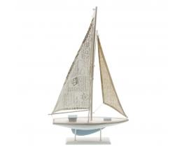 Dekoratiivne purjekas, puidust (56x35 cm)