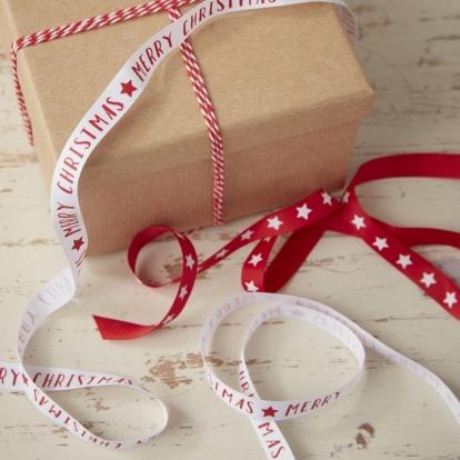 """Dekoratiivsed paelad """"Tähised jõulud"""" (3 tk)"""