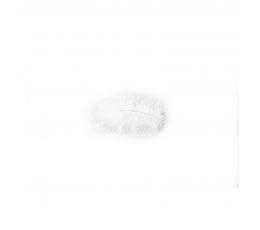 Dekoratiivsed suled, valged (10 g./5-10 cm)