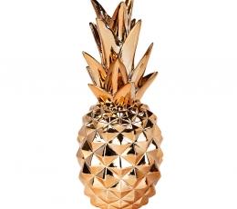"Dekoratsioon ""Ananass"" roosakas-kuldne (24 cm) 1"