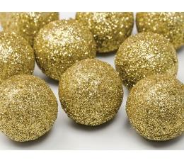 Dekoratsioon - kuldsed pallid (9 tk./3 cm)