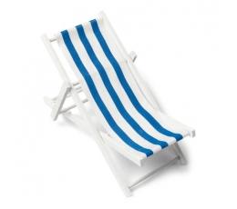 """Dekoratsioon """"Lamamistool"""", sinise triibuga (9X15 cm)"""
