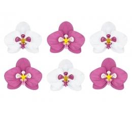 """Dekoratsioonide komplekt """"Orhideed"""" (6 tk.)"""