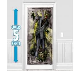 "Uksekaunistus-plakat ""Zombie"" (165 x 85 cm)"