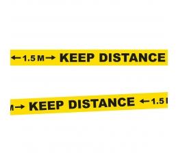 "Eralduslint ""Keep distance"" (15 m)"