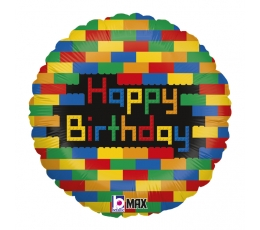 """Fooliumist õhupall """"Lego klotsid"""" (46 cm)"""