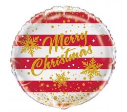 "Fooliumist õhupall ""Merry Christmas"" (45 cm)"