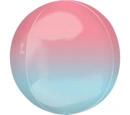 Fooliumõhupall-orbz, roosakas-sinakas ombre(38 cm)