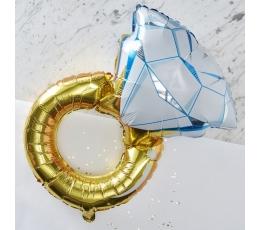"Foolium õhupall ""Abielusõrmus"" (50x80 cm)"