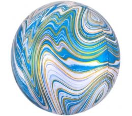 Foolium õhupall-marblez, sinine (38x40cm)