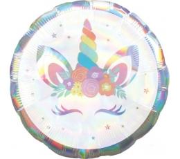"""Foolium õhupall """"Unicorn baby"""", holograafiline (45 cm)"""