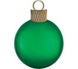 """Fooliumi õhupall """"Jõulupuu mänguasi"""", roheline"""