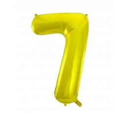 """Fooliumist õhupall """"7"""", kuldne (85 cm)"""