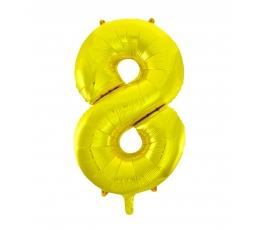 """Fooliumist õhupall """"8"""", kuldne (85 cm)"""