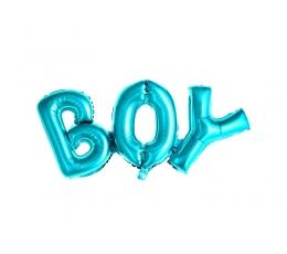 """Fooliumist õhupall """"Boy"""", helesinine  (67x29 cm)"""