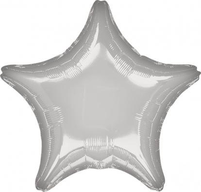 """Fooliumist õhupall  """"Hõbe täht"""" (45 cm)"""