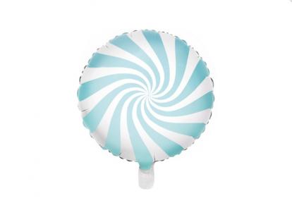 """Fooliumist õhupall """"Helesinine pulgakomm"""" (45 cm)"""