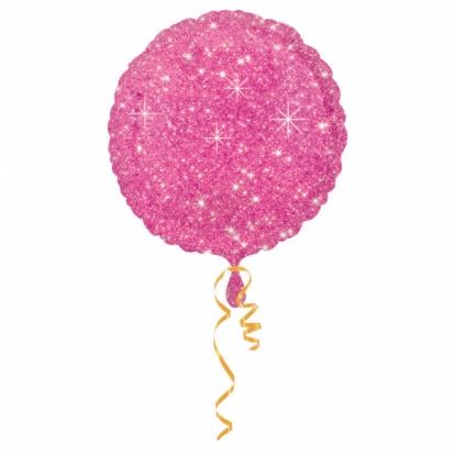 """Fooliumist õhupall  """"Läikiv roosa"""" (43cm)"""
