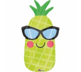 "Fooliumist õhupall  ""Lõbus ananass"" (30x66 cm)"