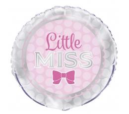 """Fooliumist õhupall  """"Little Miss"""" (45 cm)"""