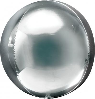 """Fooliumist õhupall """"Orbz"""", hõbedane"""