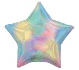 """Fooliumist õhupall """"Pärlmutter täht"""", holograafiline"""